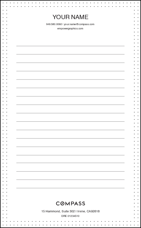 Plain Notepads