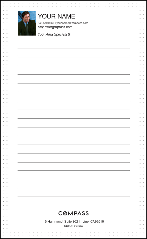 Single Agent Notepads